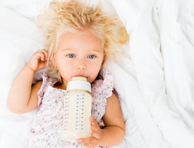 Pediatric Dentist in Fairfield and Oakland, CA - Baby Bottle Tooth Decay