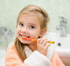 Pediatric Dentist in Fairfield and Oakland, CA- Brushing Teeth