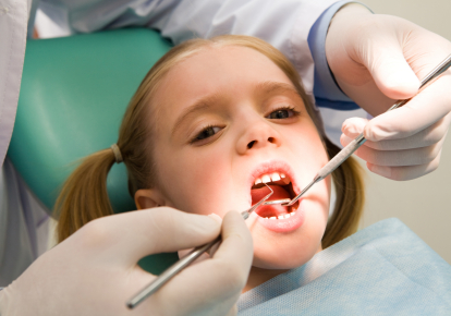 Post Op Girl - Pediatric Dentist in Fairfield and Oakland, CA