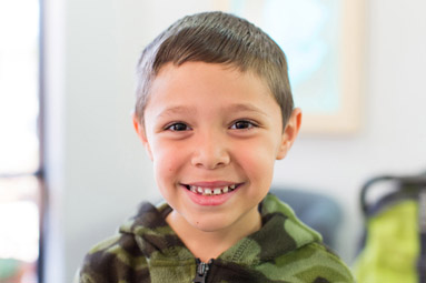 Boy Smiling- Pediatric Dentist in Fairfield and Oakland, CA